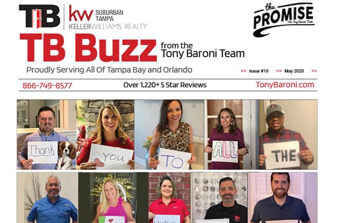 Tony Baroni Team Newsletter - May 2020